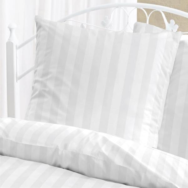 Damast Bettwäsche Schloß Holte 1458-10 Weiß