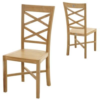 Stuhl Bristol Premium-Teak