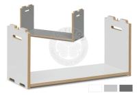 Vorschau: Regal Tojo Hochstapler Anbaumodul B76 x H35,2