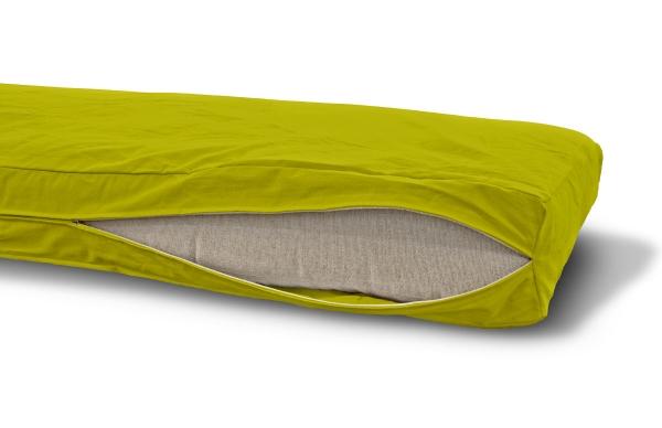 Futonbezug (Cover) 120x200 cm, Höhe 10 cm Pistazie