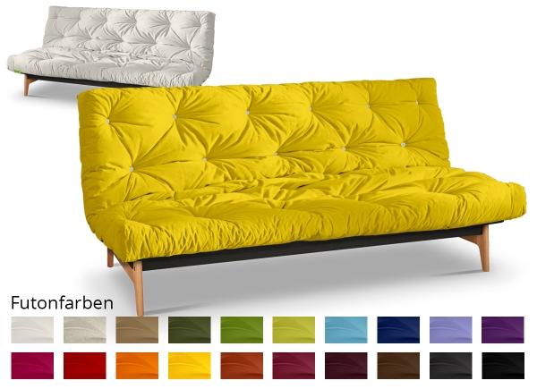 Futonsofa Aslak mit Futon Comfort Plus 120x200 cm