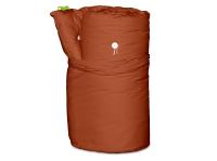Vorschau: Rollfuton Gästefuton 3.0 Baumwolle 70x200 cm Terracotta