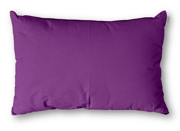 Kissen Rechteck Baumwolle 40x60 cm Purple