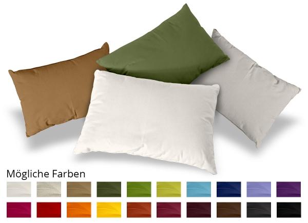Kissen Rechteck Baumwolle 20x50 cm
