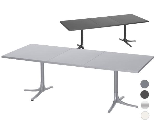 Arbon Metalltisch ausziehbar 160-218x90 cm