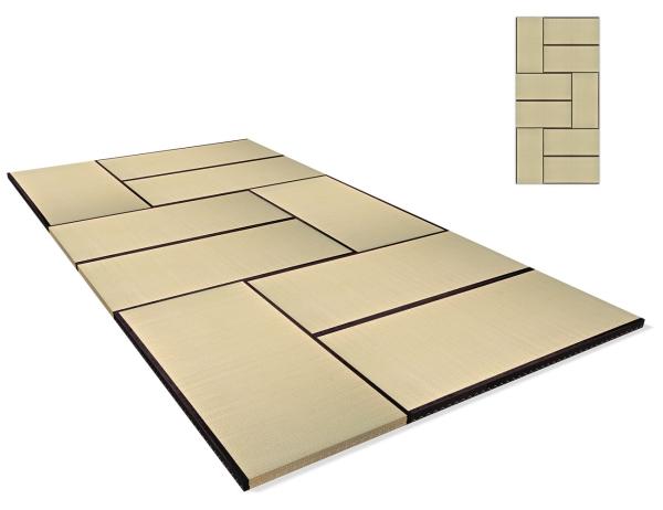 Tatami Standard Quality Set 270x540 cm, Variante 2