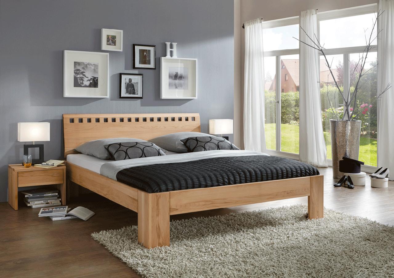massivholzbett m20 kernbuche online kaufen. Black Bedroom Furniture Sets. Home Design Ideas