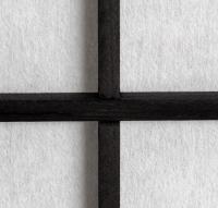 Vorschau: Paravent Miyagi Schwarz 6 teilig