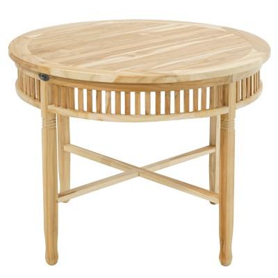 Tisch New Orleans ECO-Teak Ø 100 cm