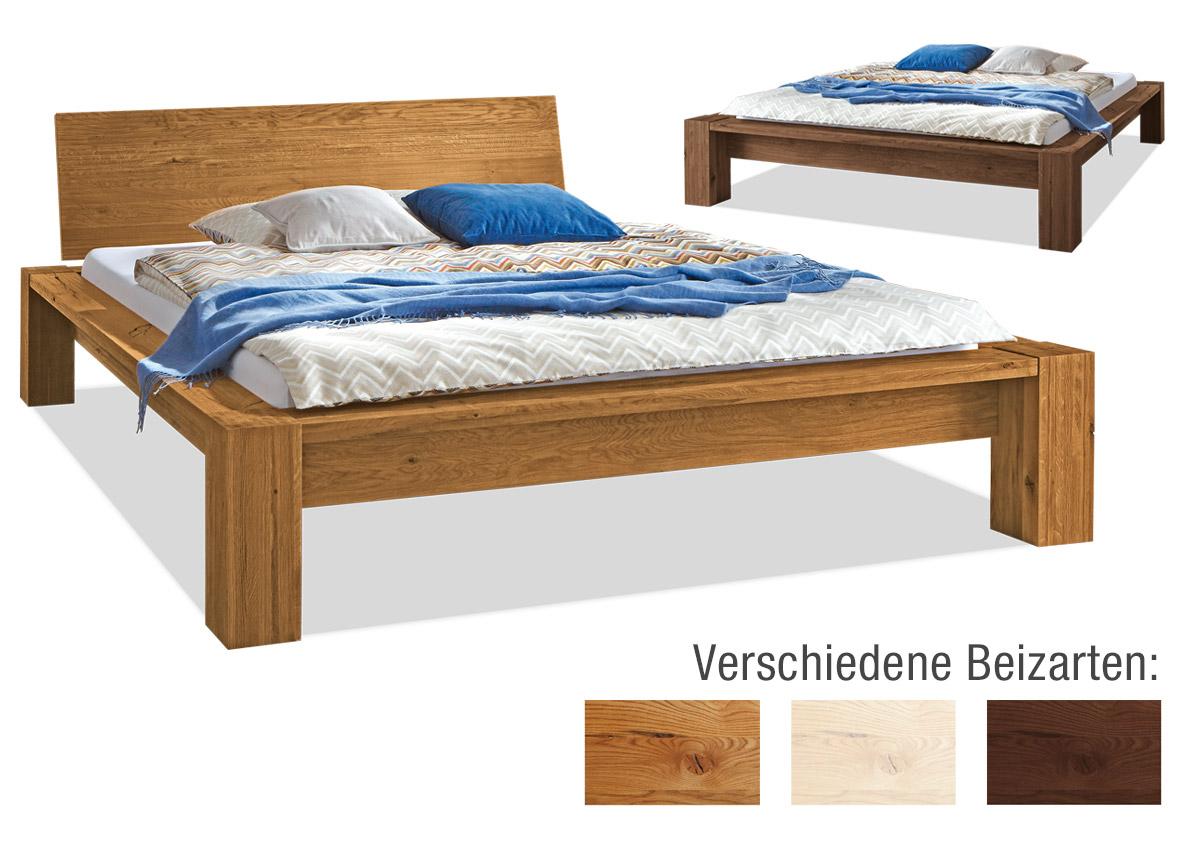 Massives Bett Cortez H39 einfach online kaufen | edofuton.de