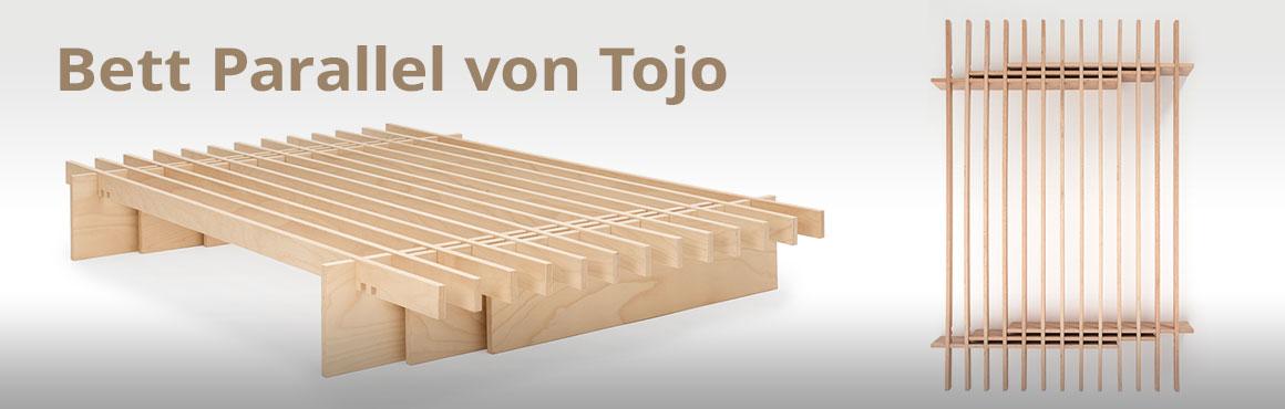 Bett Parallel von Tojo