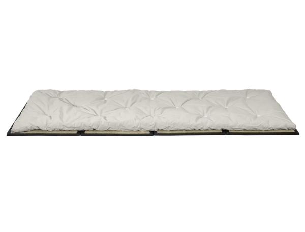 Gästefuton mit Klapp-Tatami, Set Basic 90x200 cm