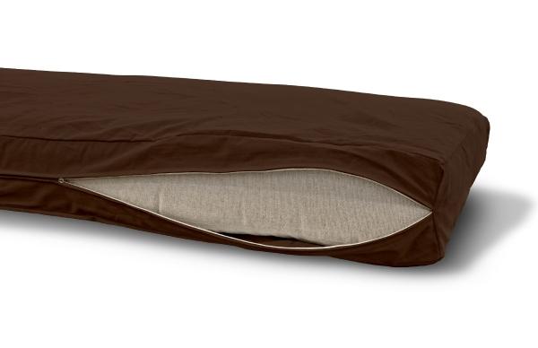 Futonbezug (Cover) 90x200 cm, Höhe 18 cm Braun