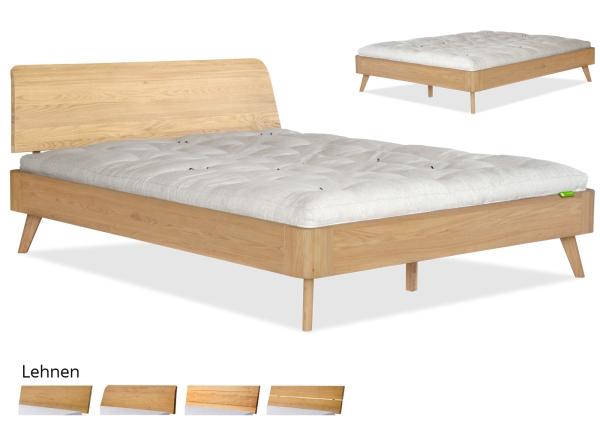 Bett agnes massivholzbetten betten for Bett 3 matratzen