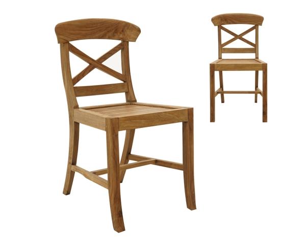 Rustikal- Stuhl Picton Old-Teak