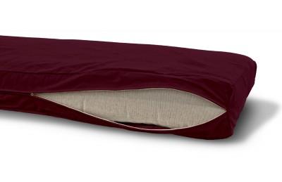 Futonbezug (Cover) 80x200 cm, Höhe 20 cm Dunkelbordeaux
