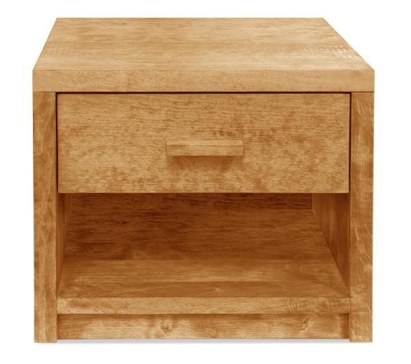 Nachttisch Basic mit Schublade und Ablage (Typ 4)
