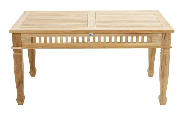 Tisch New Orleans Premium-Teak 150x90 cm