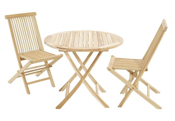Balkonset Lexington-Milford Tisch & 2 Stühle