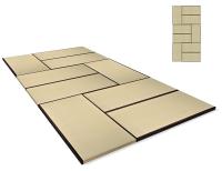 Vorschau: Tatami High Quality Set 270x540 cm, Variante 2