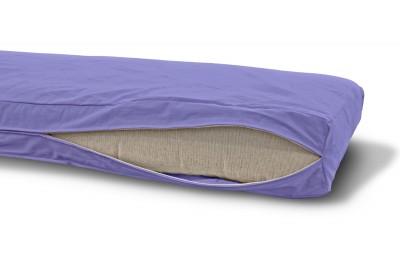 Futonbezug (Cover) 140x200 cm, Höhe 12 cm Violett