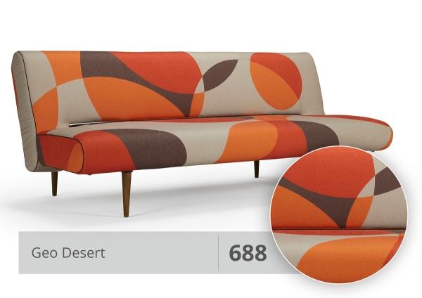 Schlafsofa Unfurl 120x200 cm 688 Geo Desert