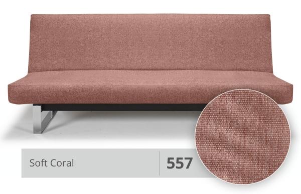 Futonbezug (Cover) Round 140x200 cm 557 Soft Coral