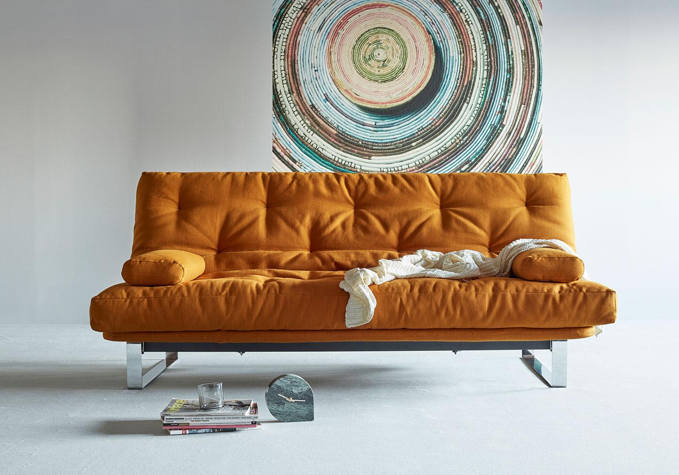 Futonsofa Minimum mit Futon Comfort 140x200 cm ...